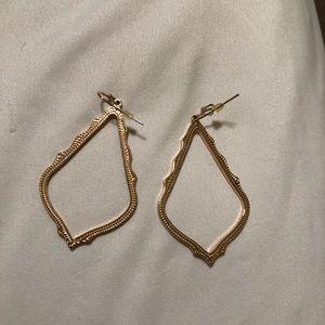 Kendra Scott Rose Gold Dangle Earrings